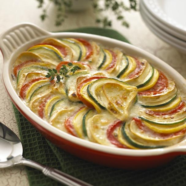 Ratatouille with Brie