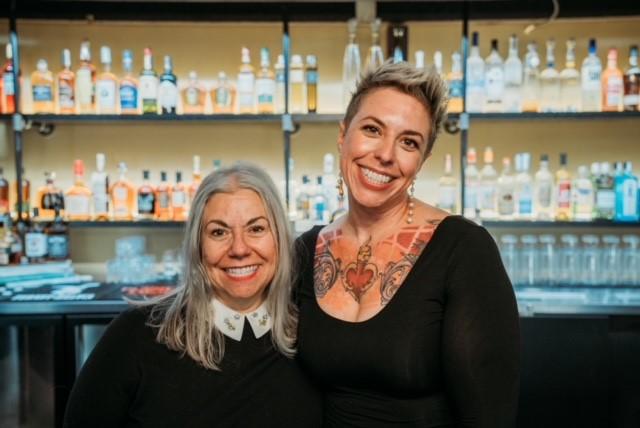 Amaseus chefs Diana and Alena