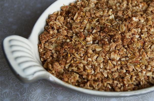 Meyer Lemony Apple Crumble