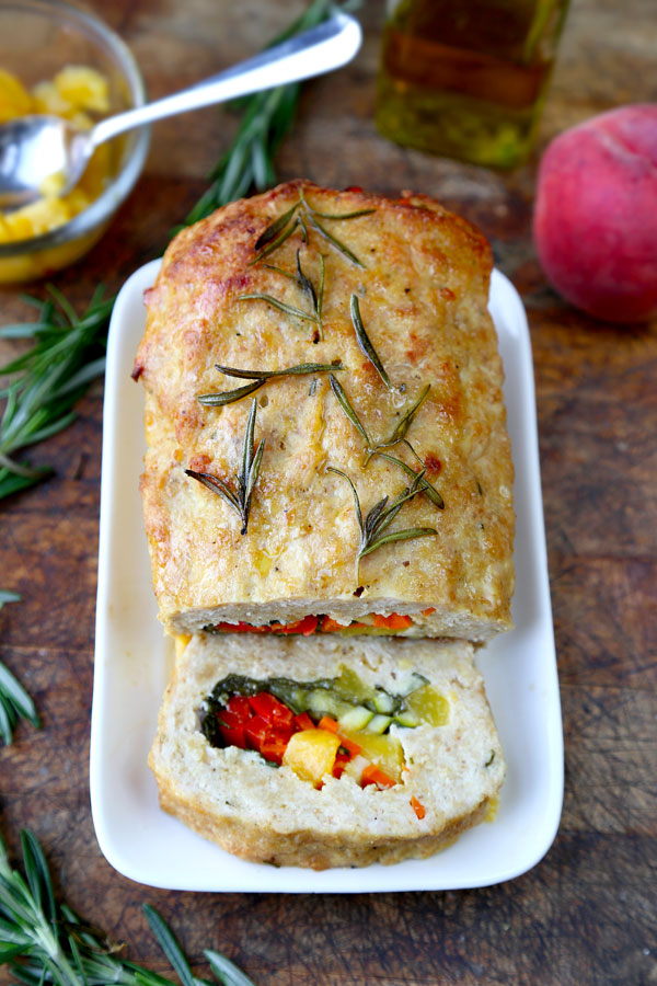 Stuffed Meatloaf With Spinach And Red Bell Pepper Recipe ...