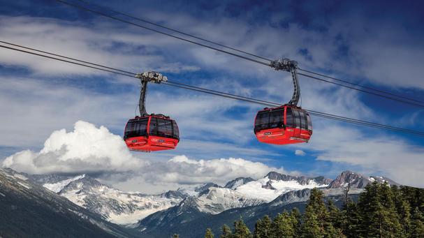 Ski gondolas