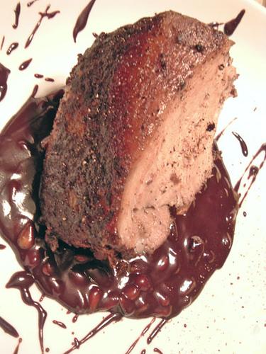 Cocoa Rubbed Pork