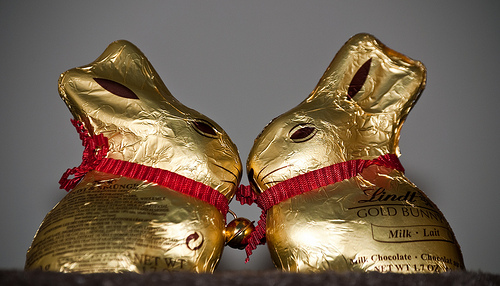 Lindt Easter bunnies