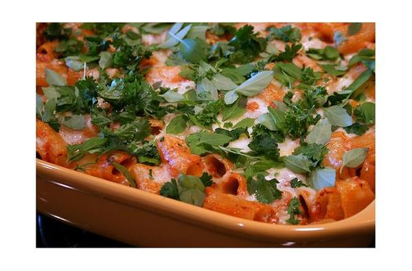 Cheesy Baked Mexi-Rigatoni Recipes — Dishmaps