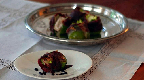 wrapped figs