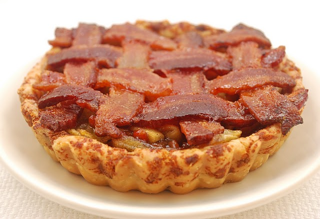 Better with Bacon Apple Pie