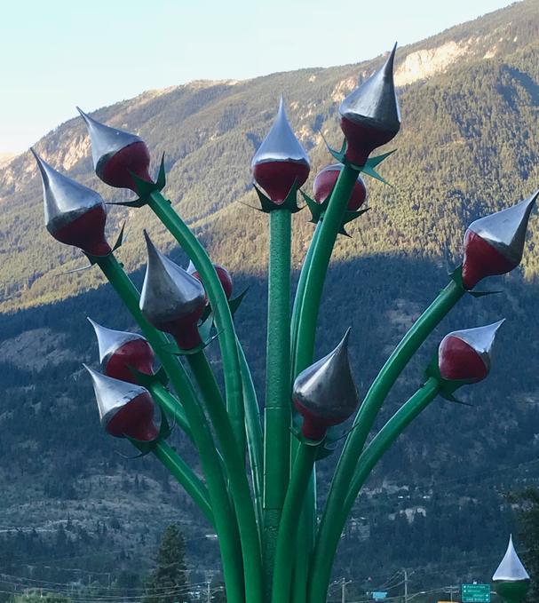 Fountain Ridge Trail sculptures