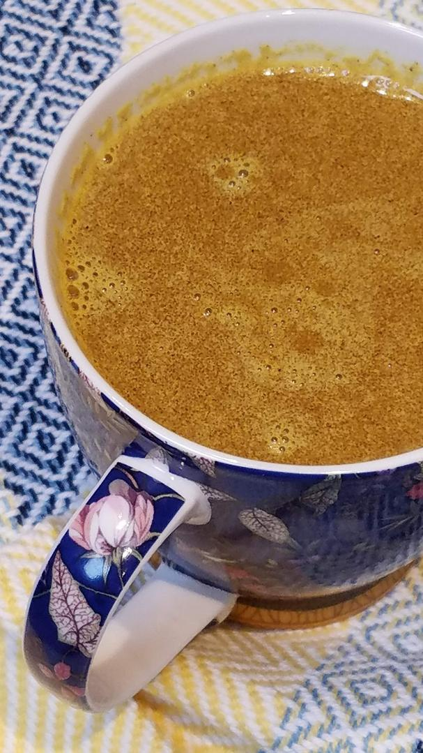 Dr. Axe's Keto Turmeric Golden Milk