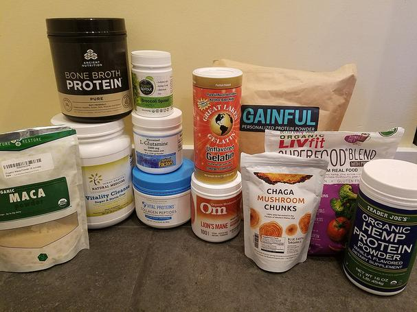 Supplements and powders for celiac and gastritis