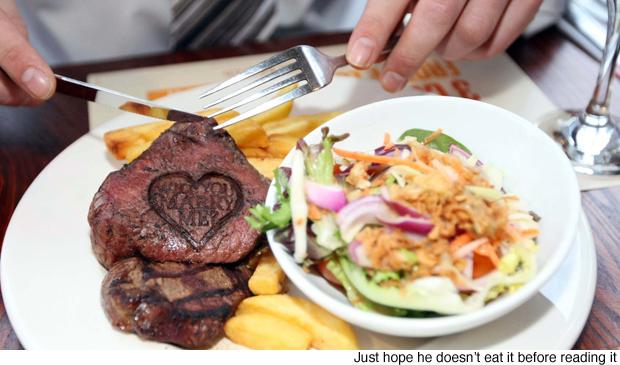 proposal steak