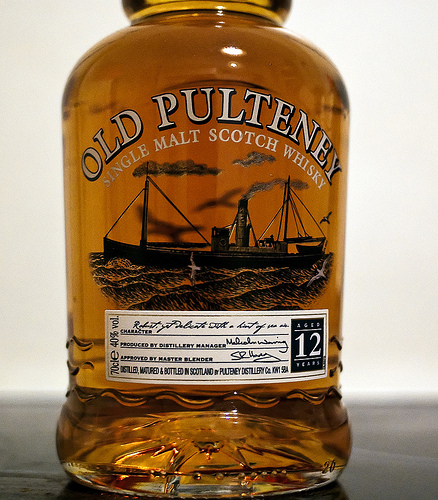 Old Pulteney Single Malt Scotch