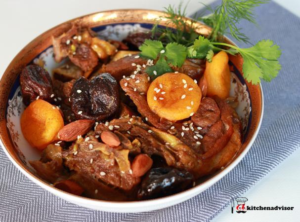Instant Pot Moroccan Lamb Tagine
