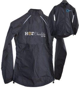 Hot Chocolate 15k/5k Goodie Bag Windbreaker
