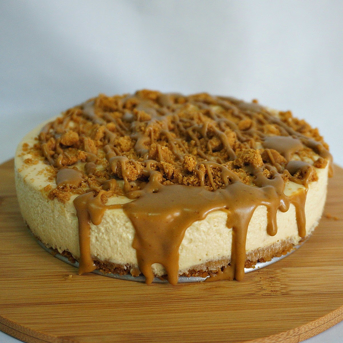 Cheese Cake Speculoos Coulis Caramel Aux Beurre Sal Ef Bf Bd