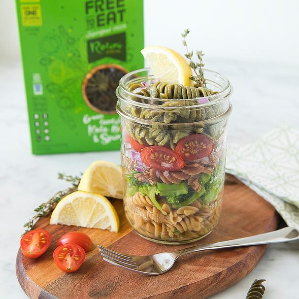 Pasta jar for lunch