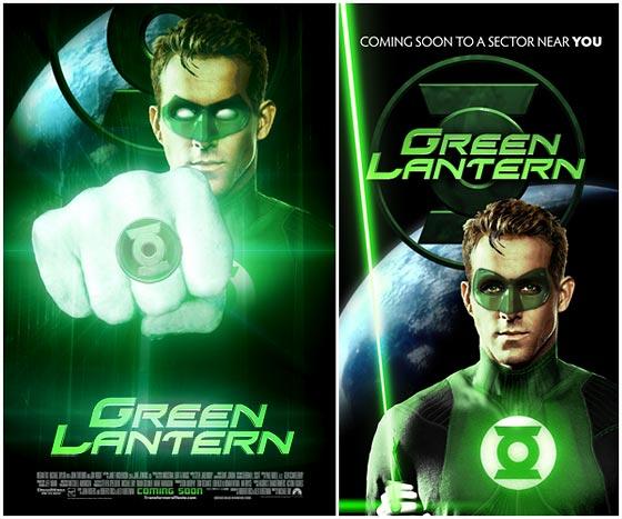 Green Lantern Movie Posters
