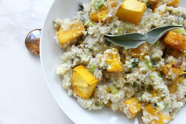 Pumpkin Cauliflower Risotto