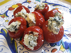Blue Cheese Stuffed Peppadew Peppers