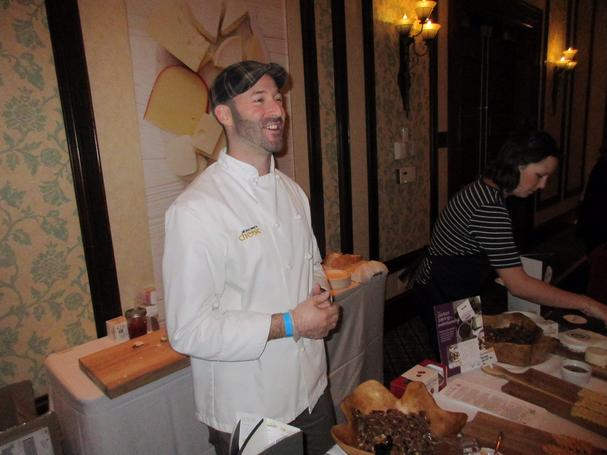 Dave Beaudoin cheese expert and owner of Squeaky Cheese