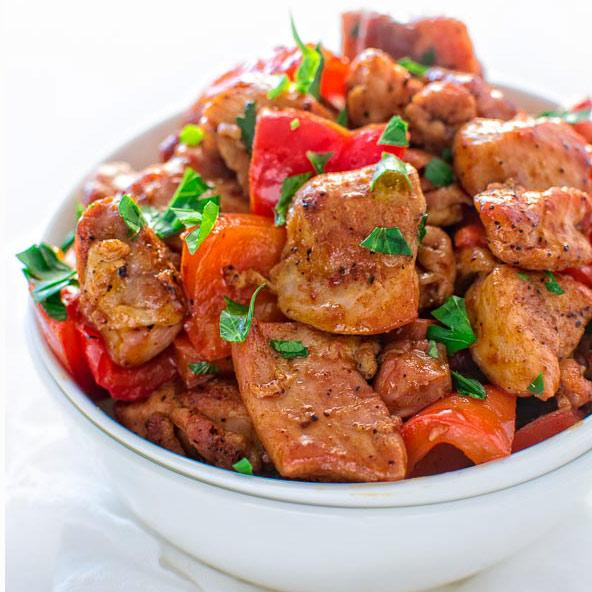 Smoky Paprika Chicken