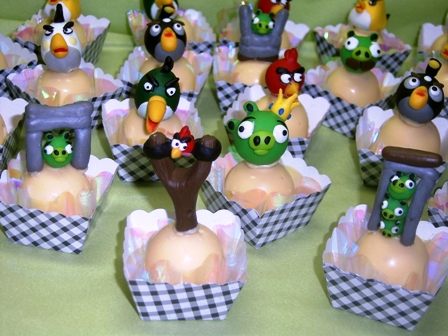 Angry Birds Truffles