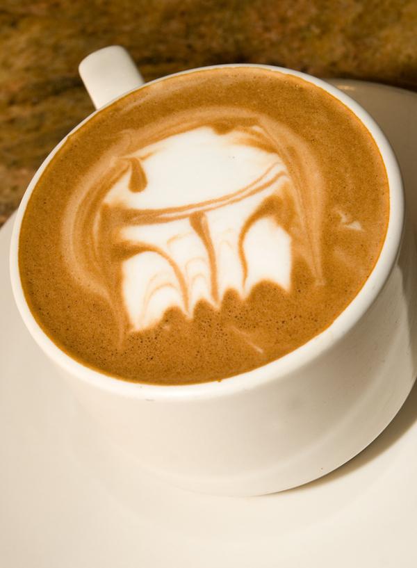 Boba Fett Coffee Art