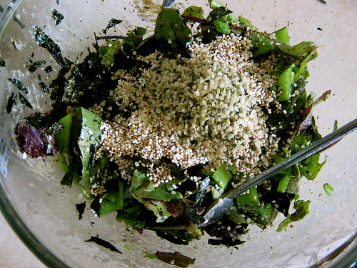 hemp salad