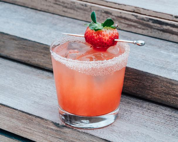 Spiced Strawberry Margarita recipe