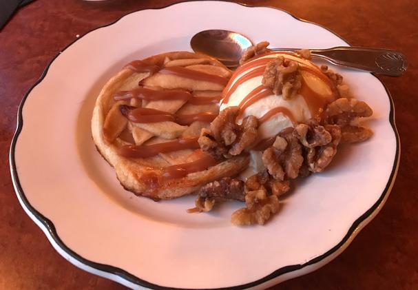 Salted Apple Caramel Crostata