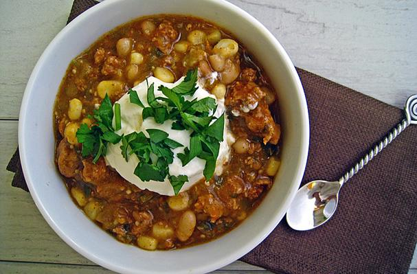 30-Minute White Bean Turkey Chili Recipes — Dishmaps