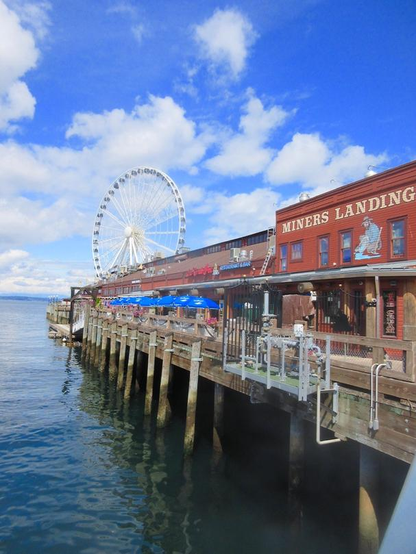 Seattle's Waterfront Miners Landing