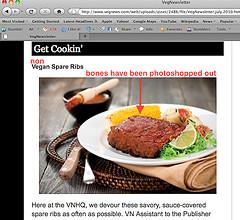 veg news meatless ribs