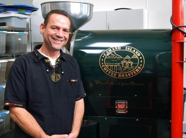 Brandon Erickson of Camano Island Coffee Roasters