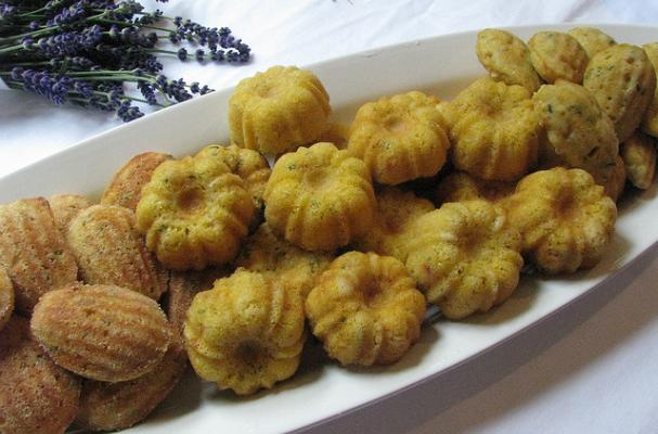 Mini Cornbread Madeleines