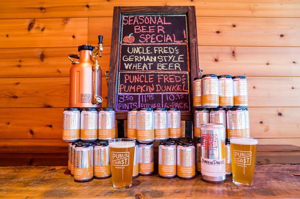 Public Coast beers