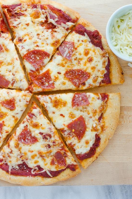 Basic Gluten free pizza crust
