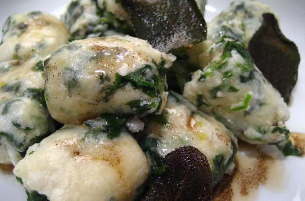 Spinach Malfatti
