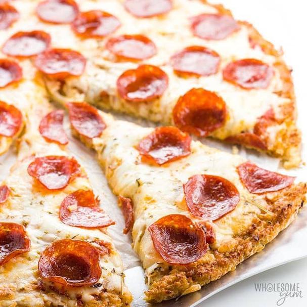 Low Carb Gluten Free Cauliflower Pizza Crust