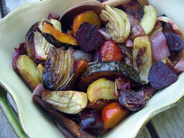 Balsamic Roasted Vegetables