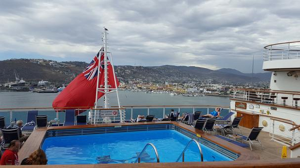 stern of ruby princess