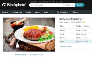 spare ribs istockphoto