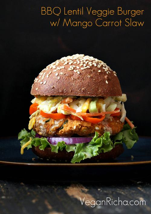 Red Lentil Burger and Other Vegetarian Burgers to Eat on Independence ...