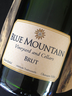 blue mountain brut british columbia wine