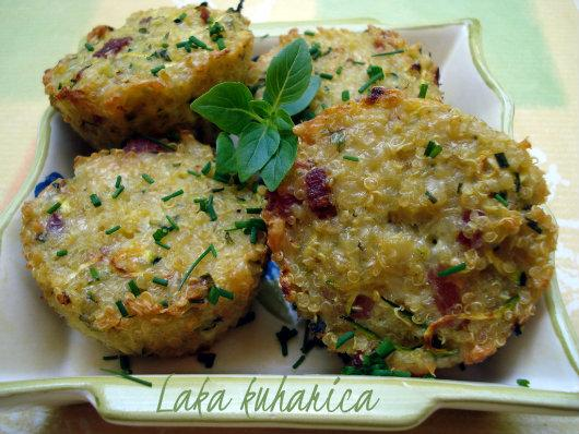 Mini Frittatas with Quinoa