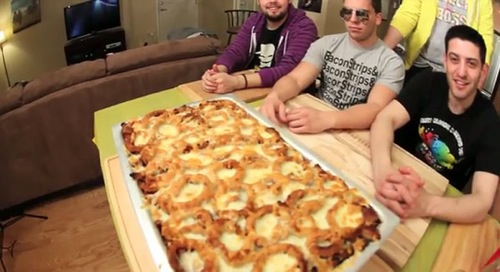 Epic Meal Time with its Fast Food Lasagna
