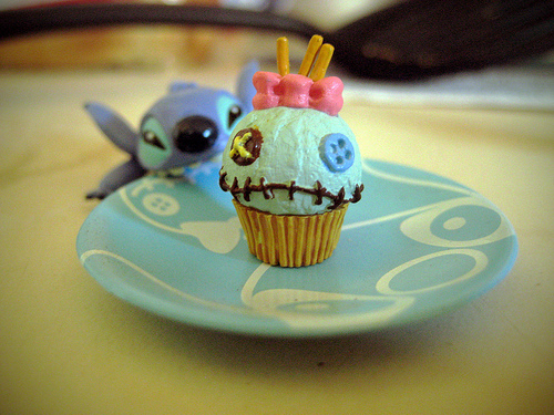 Lilo and Stitch Cupcakes