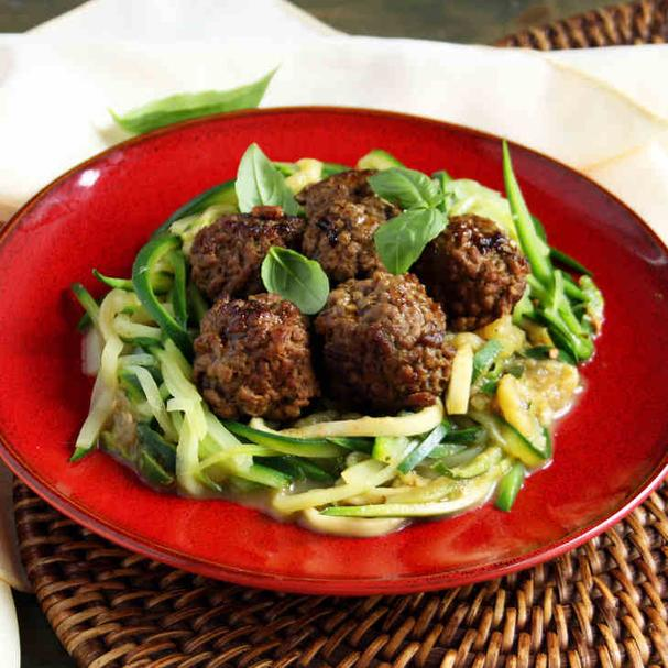 AIP Spaghetti and Meatballs