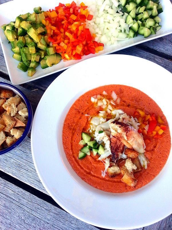 crab gazpacho recipe