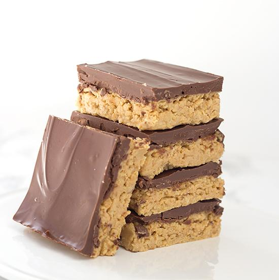 No Bake Peanut Butter Potato Chip Bars