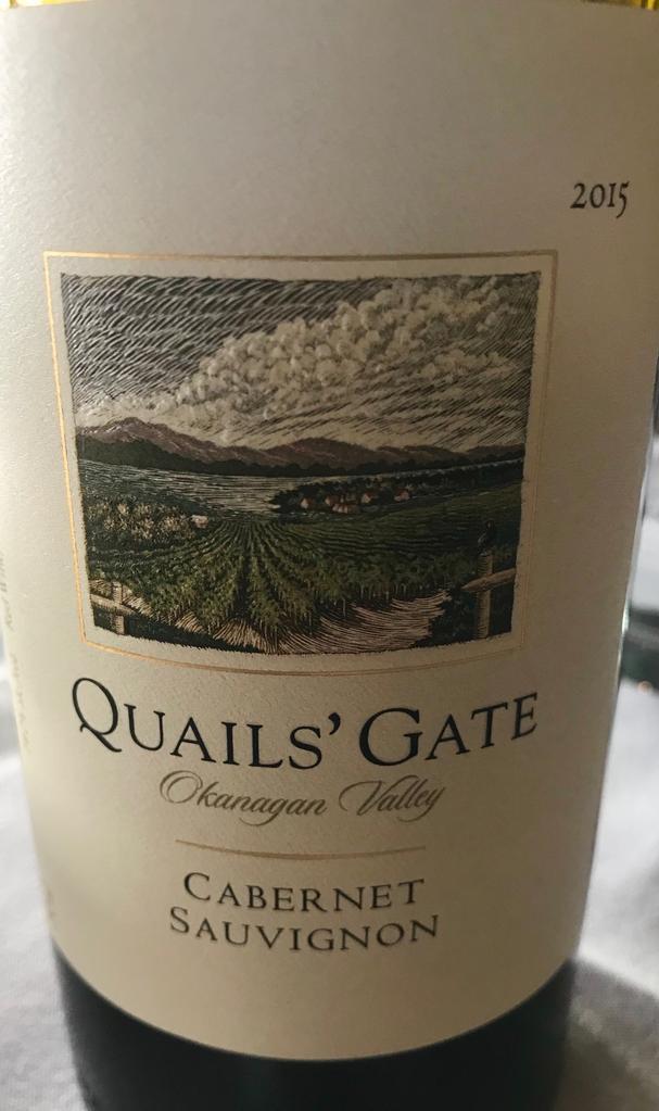 Quail's Gate Cabernet Sauvignon
